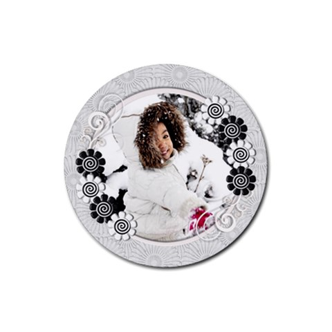 Coaster   E By Angel   Rubber Coaster (round)   O6cub76ztzww   Www Artscow Com Front