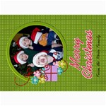 Christmas Card 3 - 5  x 7  Photo Cards