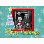 Christmas Card 4 - 5  x 7  Photo Cards