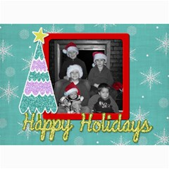 Christmas Card 4 By Martha Meier   5  X 7  Photo Cards   Sp87d4daq8l7   Www Artscow Com 7 x5 Photo Card - 7