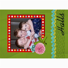 Christmas Card 5 By Martha Meier   5  X 7  Photo Cards   Eqby7su6emx1   Www Artscow Com 7 x5  Photo Card - 8