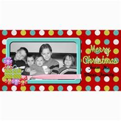 Holiday Card 2 By Martha Meier   4  X 8  Photo Cards   1dw4z6ntmj88   Www Artscow Com 8 x4  Photo Card - 4