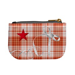 Mini Coin Purse Red Stars By Laurrie Back
