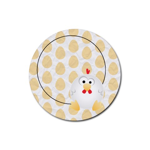 Animaland Round Coaster 07 By Carol   Rubber Coaster (round)   H2frwigwzakc   Www Artscow Com Front