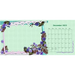 Little Flowers Desktop Calendar By Deborah   Desktop Calendar 11  X 5    4db1ca4rfofk   Www Artscow Com Dec 2020