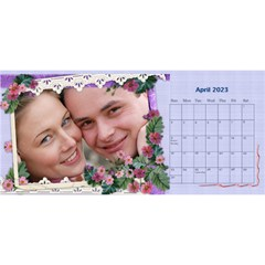 Little Flowers Desktop Calendar By Deborah   Desktop Calendar 11  X 5    4db1ca4rfofk   Www Artscow Com Apr 2020