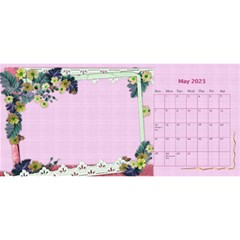 Little Flowers Desktop Calendar By Deborah   Desktop Calendar 11  X 5    4db1ca4rfofk   Www Artscow Com May 2020