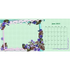 Little Flowers Desktop Calendar By Deborah   Desktop Calendar 11  X 5    4db1ca4rfofk   Www Artscow Com Jun 2020