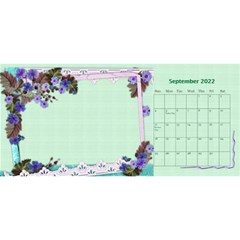 Little Flowers Desktop Calendar By Deborah   Desktop Calendar 11  X 5    4db1ca4rfofk   Www Artscow Com Sep 2020