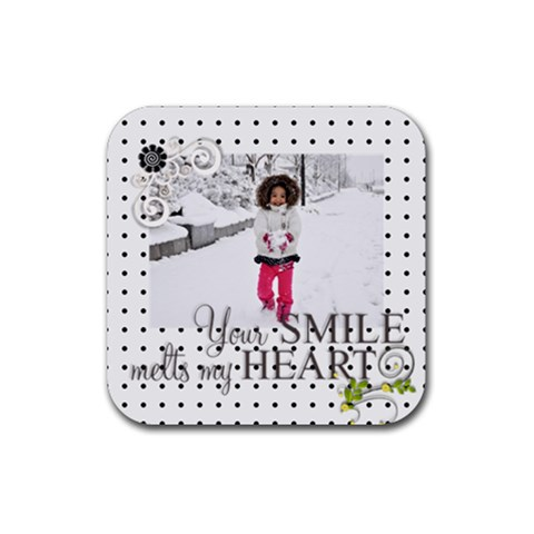 Coaster   Love   S1 By Angel   Rubber Coaster (square)   8roxuitvq82f   Www Artscow Com Front