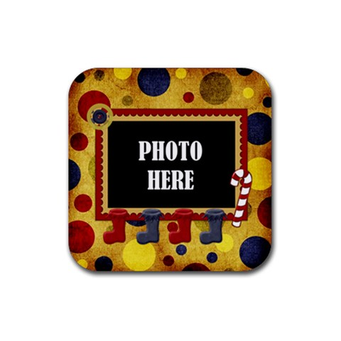 Lone Star Holidays Coaster 1 By Lisa Minor   Rubber Coaster (square)   R2u5f9m7fkp6   Www Artscow Com Front