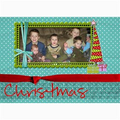 Christmas Card 13 By Martha Meier   5  X 7  Photo Cards   Dpc9nivyfn42   Www Artscow Com 7 x5 Photo Card - 5