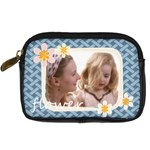 flower - Digital Camera Leather Case