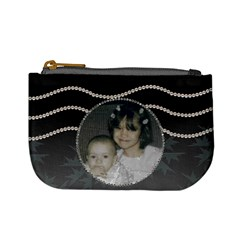 Strands Of Pearls Mini Coin Purse By Kim Blair   Mini Coin Purse   2hnb9grs4uuf   Www Artscow Com Front