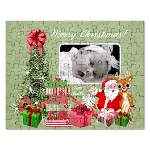 Puzzle Gift Stocking Stuffer By Laurrie   Jigsaw Puzzle (rectangular)   3j26ten7poms   Www Artscow Com Front