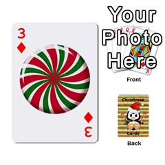 Christmas Cards Stocking Stuffer By Laurrie   Playing Cards 54 Designs   Acoe43j1wu61   Www Artscow Com Front - Diamond3