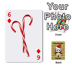 Christmas Cards Stocking Stuffer By Laurrie   Playing Cards 54 Designs   Acoe43j1wu61   Www Artscow Com Front - Diamond6