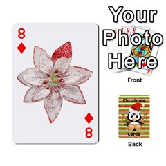 Christmas Cards Stocking Stuffer By Laurrie   Playing Cards 54 Designs   Acoe43j1wu61   Www Artscow Com Front - Diamond8