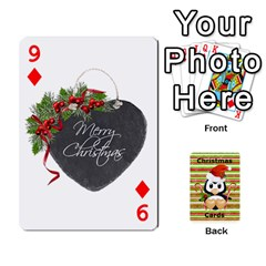 Christmas Cards Stocking Stuffer By Laurrie   Playing Cards 54 Designs (rectangle)   Acoe43j1wu61   Www Artscow Com Front - Diamond9
