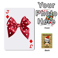 Jack Christmas Cards Stocking Stuffer By Laurrie   Playing Cards 54 Designs   Acoe43j1wu61   Www Artscow Com Front - DiamondJ