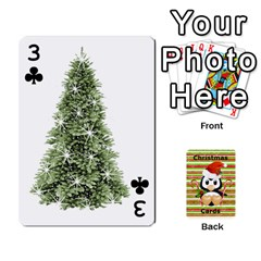 Christmas Cards Stocking Stuffer By Laurrie   Playing Cards 54 Designs   Acoe43j1wu61   Www Artscow Com Front - Club3