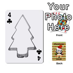 Christmas Cards Stocking Stuffer By Laurrie   Playing Cards 54 Designs   Acoe43j1wu61   Www Artscow Com Front - Club4