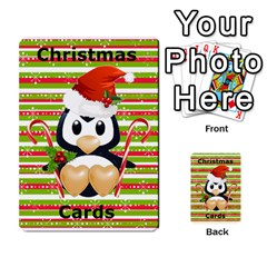 Christmas Cards Stocking Stuffer By Laurrie   Playing Cards 54 Designs (rectangle)   Acoe43j1wu61   Www Artscow Com Back