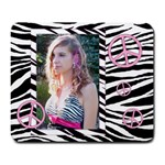 Mousepad Zebra Pink Peace - Large Mousepad