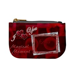 I Heart You Magical Moment Coin Purse By Ellan   Mini Coin Purse   Cz0d1rzrnt47   Www Artscow Com Front