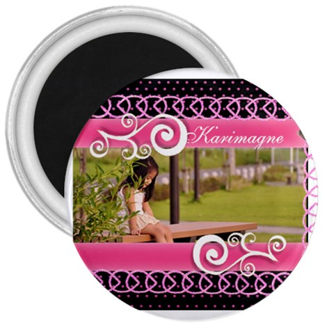 3  Magnet   Little Lady By Angel   3  Magnet   P8isqvjroza0   Www Artscow Com Front