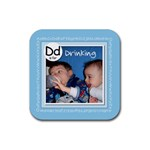 Baby Drink Coaster ABC - Rubber Coaster (Square)