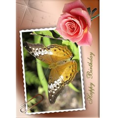 Birthday (any Occasion) Card (5x7) 1 By Deborah   Greeting Card 5  X 7    93spxd36mfqk   Www Artscow Com Front Cover