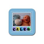 Baby ABC coaster - Rubber Coaster (Square)