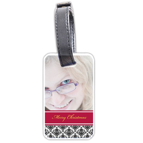 Xmas By May   Luggage Tag (one Side)   6xh5gkgm9ktq   Www Artscow Com Front