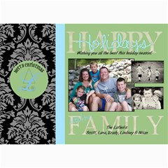 Happy Hoildays Card By Lana Laflen   5  X 7  Photo Cards   6dljf9xg8jwi   Www Artscow Com 7 x5 Photo Card - 1