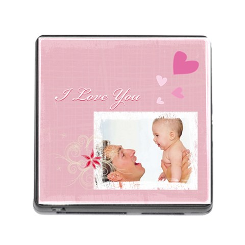 I Love You By Joely   Memory Card Reader (square)   Ah7930oizmhk   Www Artscow Com Front