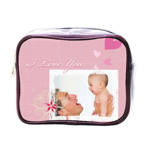I Love You By Joely   Mini Toiletries Bag (one Side)   Hhi4nqya84lt   Www Artscow Com Front