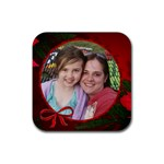 christmas love - Rubber Coaster (Square)