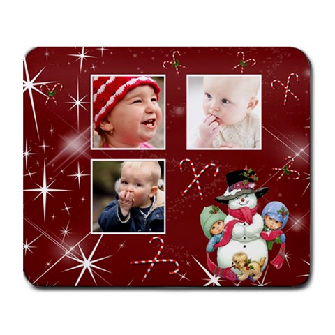 Christmas Collection Collage Mousepad  By Picklestar Scraps   Collage Mousepad   227puo9v9p05   Www Artscow Com 9.25 x7.75 Mousepad - 1