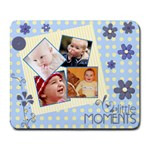 Serenity Blue-Collage Mousepad
