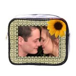 Sunflower Mini Toiletries Bag - Mini Toiletries Bag (One Side)