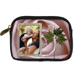 Pretty Pink Digital Camera Case - Digital Camera Leather Case