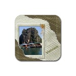 Travel coaster - Rubber Coaster (Square)