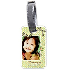 Luggage Tag   1 By Angel   Luggage Tag (two Sides)   9qjkhk9tvvqc   Www Artscow Com Front
