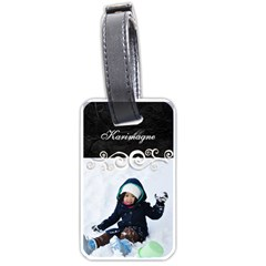 Luggage Tag   3 By Angel   Luggage Tag (two Sides)   249y7jkpstc0   Www Artscow Com Back