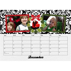 2015 Black & White With Flowers, Desktop Calendar 8 5x6 By Mikki   Desktop Calendar 8 5  X 6    4yafs4j4lzeg   Www Artscow Com Dec 2015