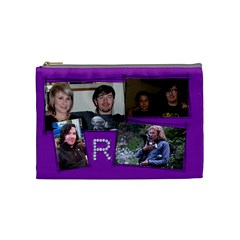 Rachael By Hoyhoy14 Msn Com   Cosmetic Bag (medium)   Rskeeeldcc4p   Www Artscow Com Front