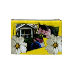Rachael By Hoyhoy14 Msn Com   Cosmetic Bag (medium)   Rskeeeldcc4p   Www Artscow Com Back