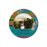 rubber coaster - so in love - 4 - Rubber Coaster (Round)