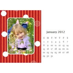 Calendar By Divad Brown   Desktop Calendar 8 5  X 6    62551hwsy2rq   Www Artscow Com Jan 2012